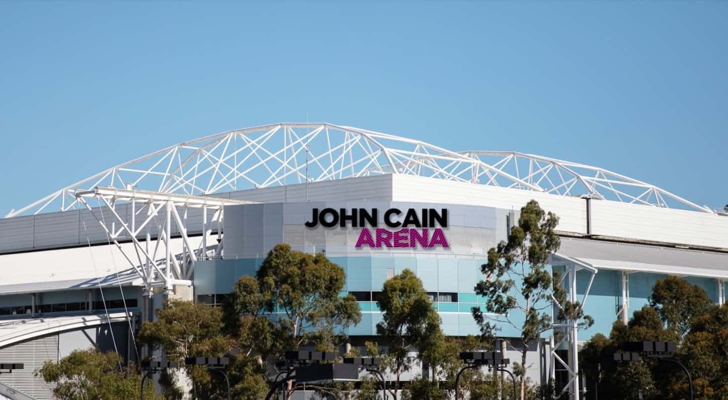 John Cain Arena Map