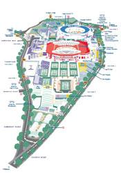 Wimbledon, Map of the Grounds